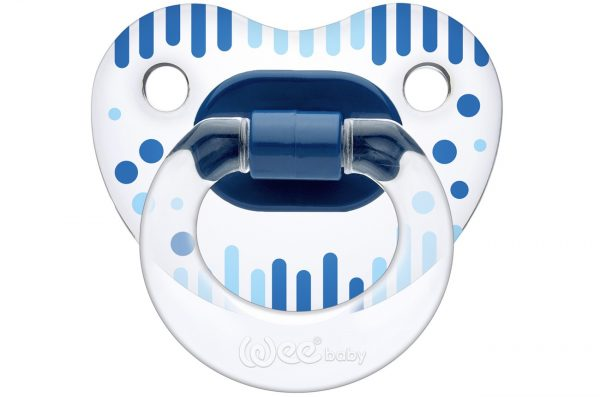 Lot de 2 Tétine Orthodontique à Motif - Bleue