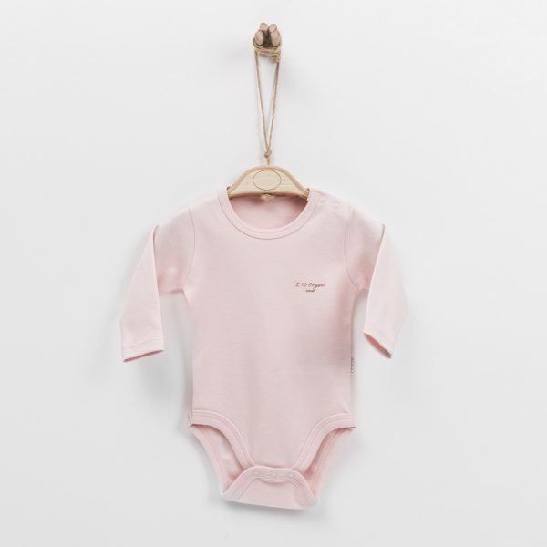 Body manches longues rose